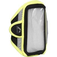 More Mile IPhone/Samsung Running Armband Black/Fluro Yellow
