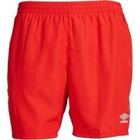 Umbro Mens Woven Shorts High Risk Red