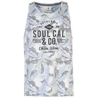 SoulCal All Over Print Vest Mens