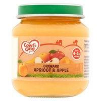 Cow & Gate Orchard Apricot & Apple from 4-6m Onwards 125g