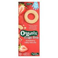 Organix Strawberry Ring Biscuits 10+ months 54g