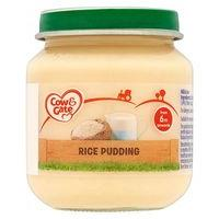 Cow & Gate Rice Pudding from 6m Onwards 125g