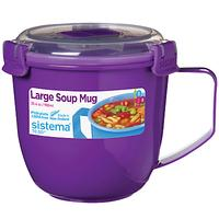 Sistema Soup Mug To Go, 900ml, Assorted