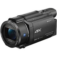 Sony FDR-AX53 Handycam with 4K Ultra-HD, Balanced Optical SteadyShot, 8.29MP, 20x Optical Zoom, NFC,