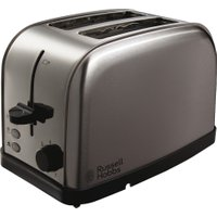 RUSSELL HOBBS Futura 18780 2-Slice Toaster - Brushed Steel, Brushed Steel