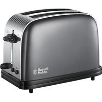 RUSSELL HOBBS Colours Plus 23332 2-Slice Toaster - Grey, Grey