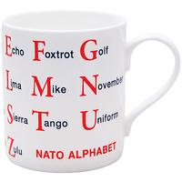 McLaggan Smith Educational 'Nato Alphabet' Mug