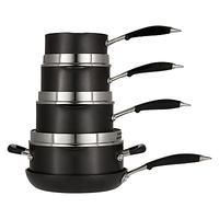 John Lewis & Partners 'The Pan' Aluminium Non-Stick Pan Set, 5 Piece