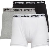 Umbro Mens Three Pack Pouch Boxers Mix