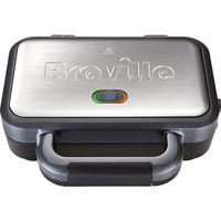 BREVILLE VST041 Deep Fill Sandwich Toaster - Graphite & Stainless Steel, Stainless Steel