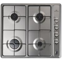 BELLING GHU601 Gas Hob - Stainless Steel, Stainless Steel