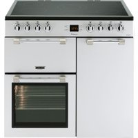 LEISURE Cookmaster CK90C230S 90 cm Electric Ceramic Range Cooker - Silver, Silver