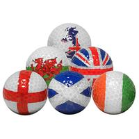 Longridge Flag Golf Balls Set, Pack of 6
