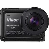 NIKON KeyMission 170 Action Camcorder - Black, Black