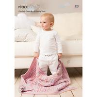 Rico Baby Dream A Luxury Touch Blanket Knitting Pattern, 518