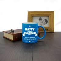 Personalised Father's Day Mug of Honour
