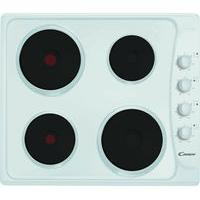 CANDY PLE64W Electric Solid Plate Hob - White, White