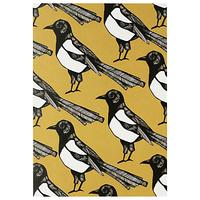 Martha and Hepsie Mischievous Magpie Greeting Card