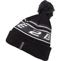 Dare2b Mens Psyche Out Knitted Bobble Hat Black