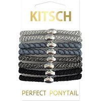 Kitsch Perfect Ponytail Pack Black
