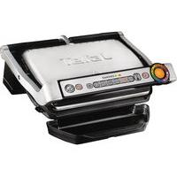 TEFAL OptiGrill GC713D40 Health Grill - Stainless Steel, Stainless Steel