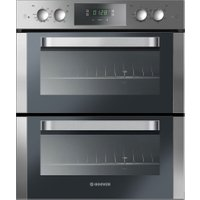 HOOVER HO7D3120IN Electric Built-under Double Oven - Stainless Steel, Stainless Steel