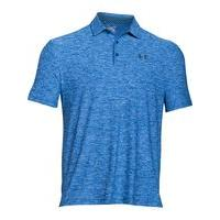 Men's Under Armour Playoff Polo, Mid Blue