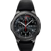 Samsung Gear S3 Frontier Smartwatch with Active Silicon Band, Dark Grey