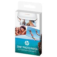HP Zink Sticky-Backed Photo Paper, 20 Sheets, 2 x 3 each, for HP Sprocket Photo Printer