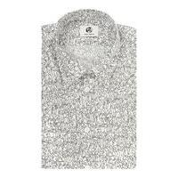 Men's PS By Paul Smith Long Sleeved Dancing People Print Shirt, White