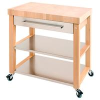 Eddingtons Chilton Kitchen Trolley, FSC-Certified (Beech), Large