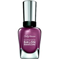 Sally Hansen Complete Salon Manicure Nail Colour mauvin on up