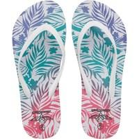 Board Angels Womens Flip Flops White