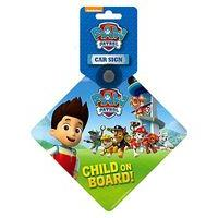 Paw Patrol - Baby On Board Sign