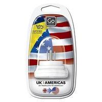Go Travel UK to USA, Canada and South America Adaptor