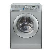 INDESIT Innex BWD 71453 S Washing Machine - Silver, Silver