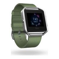 FITBIT Blaze Accessory Band - Olive, Small, Olive