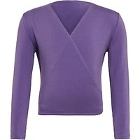 Freed Royal Academy of Dance Crossover 3/4 Sleeves Wrap Cardigan, Purple