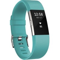 FITBIT Charge 2 Classic Accessory Band - Teal, Large, Teal
