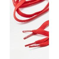 Mr. Lacy Red Flat Shoe Lace Belt, RED