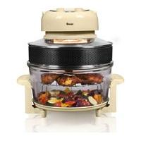 SWAN Halogen SF31020CN Oven & Air Fryer - Cream, Cream