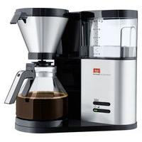 MELITTA AromaElegance Filter Coffee Machine - Black & Stainless Steel, Stainless Steel