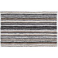 John Lewis & Partners Multi Stripe Reversible Bath Mat