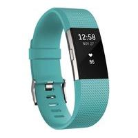 FITBIT Charge 2 Classic Accessory Band - Teal, Small, Teal