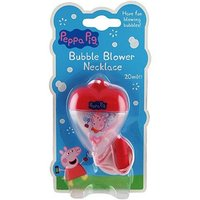 Peppa Pig Necklace Bubble Blower 20ml