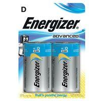 Energizer Advanced D Batteries 2-Pack