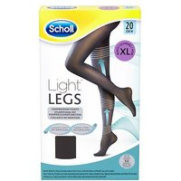 Scholl Light Legs Compression Tights 20 Den Black  Extra Large