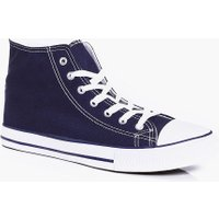 Top Canvas Plimsoll - navy