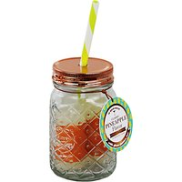 Modern Cocktails Pineapple Cocktail Jar, 7cl