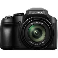 Panasonic Lumix DC-FZ82 Bridge Camera, 4K UHD, 18.1MP, 60x Optical Zoom, Wi-Fi, Live Viewfinder, 3 L